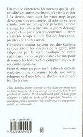 Bouffee D'Ermite - 4ème de couverture - Format classique