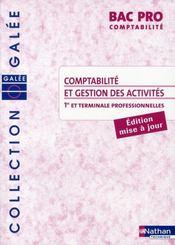 Comptabilite et gestion des activités ; bac pro ; comptabilité élève (édition 2008) - Intérieur - Format classique