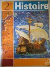 Histoire - 2nde (2001) - manuel eleve - Couverture - Format classique