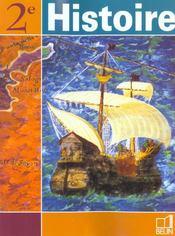 Histoire - 2nde (2001) - manuel eleve - Intérieur - Format classique
