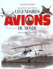 Legendaires avions du monde - Intérieur - Format classique