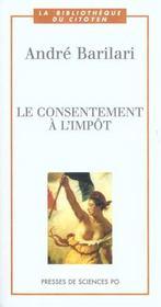 Le consentement à l'impôt - Intérieur - Format classique