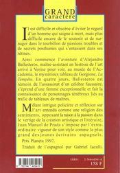 La Tempete - 4ème de couverture - Format classique