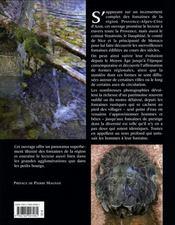 Fontaines de Provence et de Côte d'Azur - 4ème de couverture - Format classique