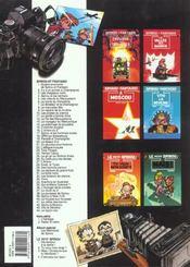 Les aventures de Spirou et Fantasio T.35 ; qui arrêtera Cyanure - 4ème de couverture - Format classique