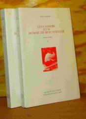 Cahiers D'Un Homme De Bon Vouloir/1(2vol) - Couverture - Format classique
