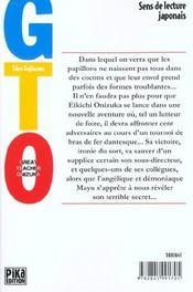 GTO t.15 - 4ème de couverture - Format classique
