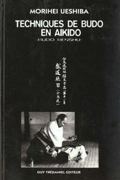 Techniques De Maitre Budo En Aikido - Intérieur - Format classique