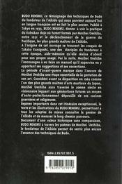 Techniques De Maitre Budo En Aikido - 4ème de couverture - Format classique