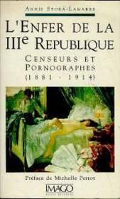 L'enfer de la IIIème République - Couverture - Format classique
