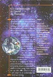 Les extraterrestres et l'avenir de l'humanité - 4ème de couverture - Format classique