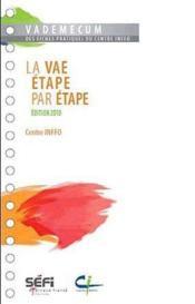 Vademecum ; La Vae, Etape Par Etape (Edition 2010) - Couverture - Format classique
