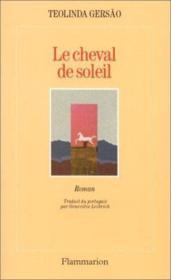 Le Cheval De Soleil - Couverture - Format classique