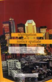 Ségrégation et justice spatiale - Couverture - Format classique