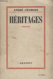 Heritages. - Couverture - Format classique