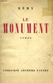 Le Monument. - Couverture - Format classique