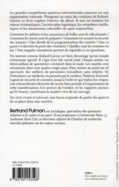 Rouge est la terre ; dans les coulisses de Roland Garros - 4ème de couverture - Format classique