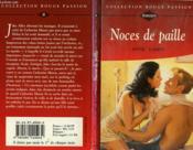 Noces De Paille - Two Weddings And A Bride - Couverture - Format classique