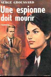 Une Espionne Doit Mourir - Couverture - Format classique