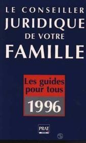 Conseiller Juridique De Votre Famille - Couverture - Format classique