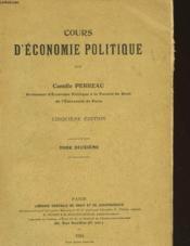 Cours D'Economie Politique - Tome 2 - Couverture - Format classique