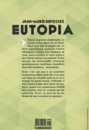 Eutopia - 4ème de couverture - Format classique