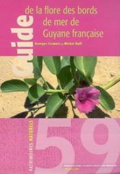 Guide de la flore des bords mer de Guyane française - Couverture - Format classique