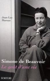 Simone de Beauvoir ; le goût d'une vie - Intérieur - Format classique