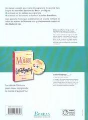 Histoire 2de manuel 2005 (édition 2005) - 4ème de couverture - Format classique