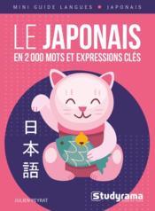 Le japonais en 2000 mots et expressions - Couverture - Format classique