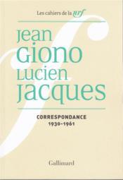 Giono - t03 - correspondance - vol02 - 1930-1961 - Couverture - Format classique