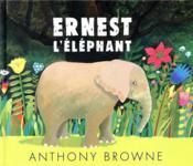 Ernest l'éléphant - Couverture - Format classique