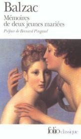 Mémoires de deux jeunes mariées - Couverture - Format classique