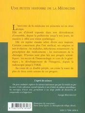 Une Petite Histoire De La Medecine No23 - 4ème de couverture - Format classique