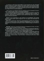 Cours De Self-Defense - 4ème de couverture - Format classique