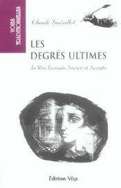 Degres Ultimes (Les) - Intérieur - Format classique