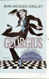 Georgius - l'amuseur public n 1 - Couverture - Format classique