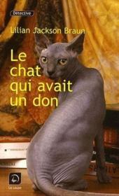 Le chat qui avait un don - Couverture - Format classique