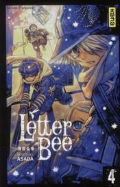 Letter bee t.4 - Couverture - Format classique