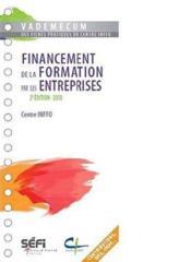 Vademecum Du Financement Et De La Formation Professionnelle (2e Edition) - Couverture - Format classique
