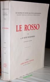 Le Rosso. - Couverture - Format classique