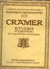 Etudes Pour Piano - Couverture - Format classique