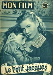 Mon Film N° 407 - Le Petit Jacques - Couverture - Format classique
