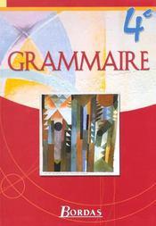 Grammaire bordas 4e manuel - Intérieur - Format classique