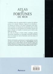 Atlas des fortunes de mer - 4ème de couverture - Format classique