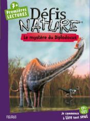 Le mystère du diplodocus - Couverture - Format classique