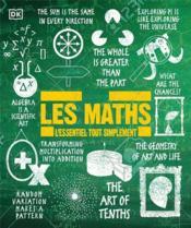 Les maths ; l'essentiel tout simplement - Couverture - Format classique