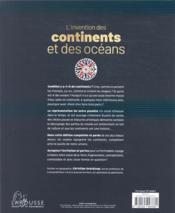 L'invention des continents et des océans ; histoire de la représentation du monde - 4ème de couverture - Format classique
