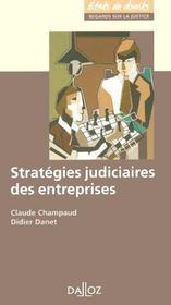 Stratégies judiciaires des entreprises - Intérieur - Format classique