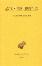 Métamorphoses - Couverture - Format classique